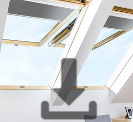Top hung and pivot roof windows