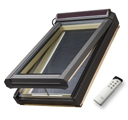 Solar powered Deck Mounted Skylight FVS
